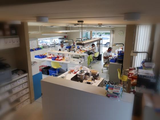 Laboratoire dentaire, Malonne, Namur
